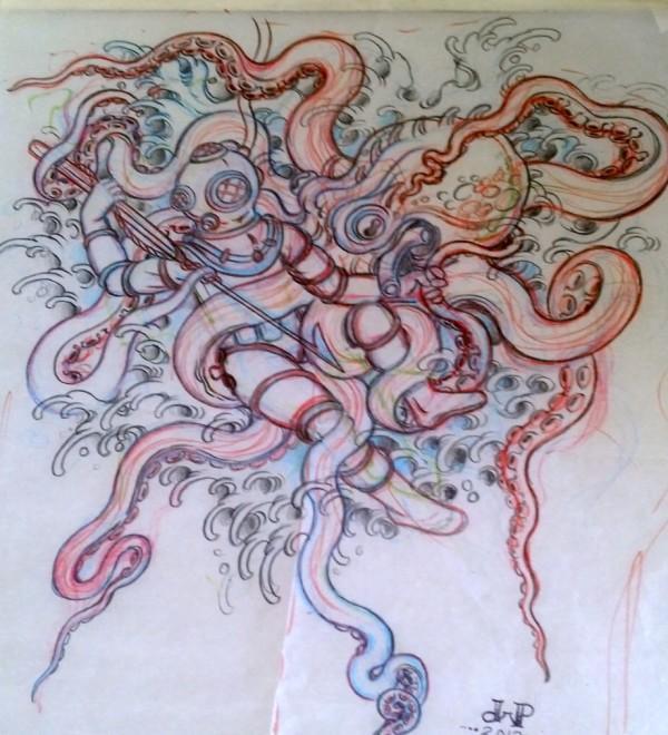 Lo scarabocchio diventa un tatuaggio epico - 2