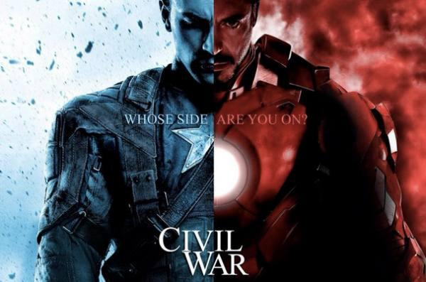 Captain America: Civil War 6 Maggio