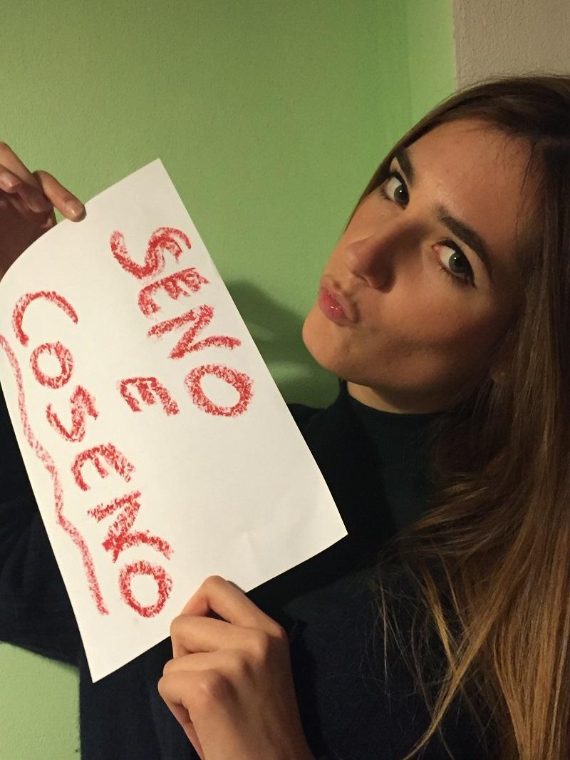 La dedica di Matilde Trassinelli per Seno&Coseno!