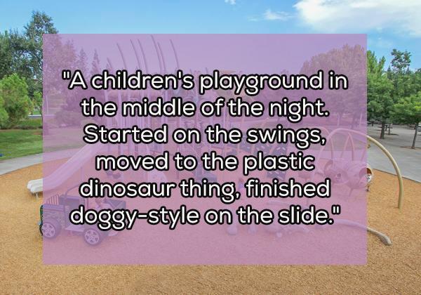In un parco per bambini, nel mezzo della notte.... [ Vai AVANTI, clicca sul numero SUCCESSIVO ]