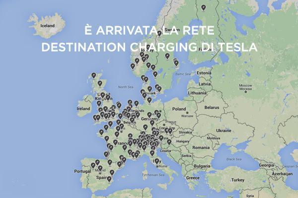 Oggi caricare una Tesla in Europa è ancora più facile